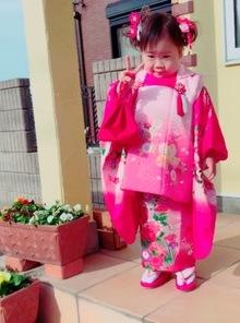 七五三3歳女の子★メイク★アップ★お着付けのサムネイル