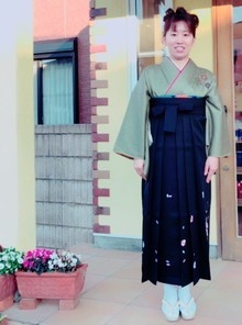ご卒業式★メイク★アップ★袴★のサムネイル
